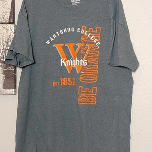 Wartburg College Large Gildan driblend shirt top